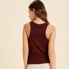 Wine Button Tank