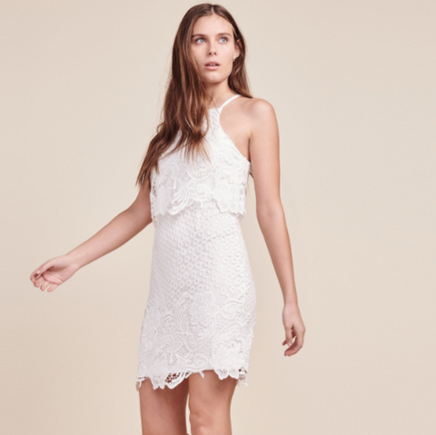 Bryn White Lace Dress