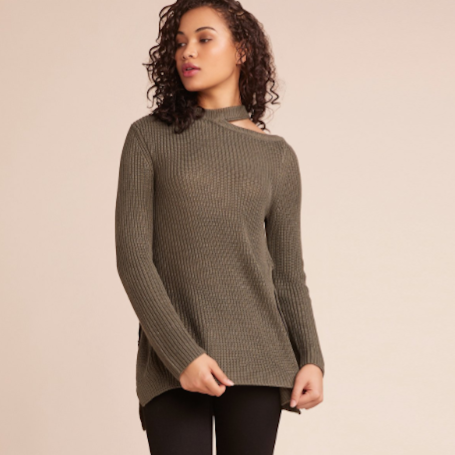 Dusk Til Dawn Slit Sweater