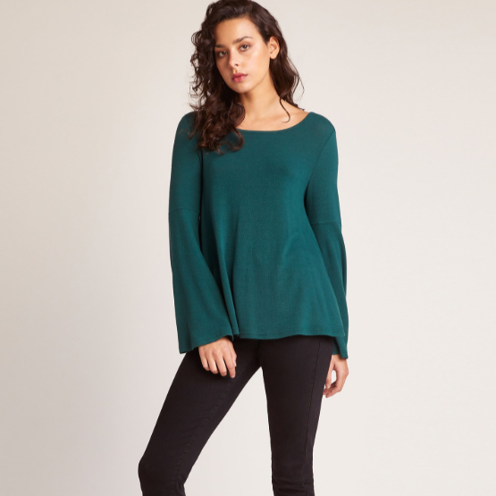 Liberal Arts Hunter Green Sweater