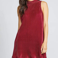 Velvet Rope Mini Dress