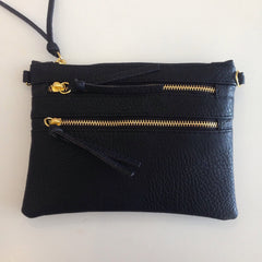 Zipper Cross Body Bag