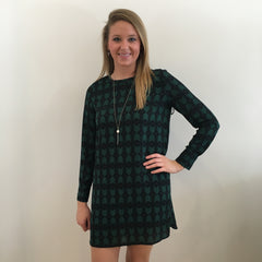 Geometric Shift Dress by Karlie Clothes at Charm Boutique in Gulf Shores AL