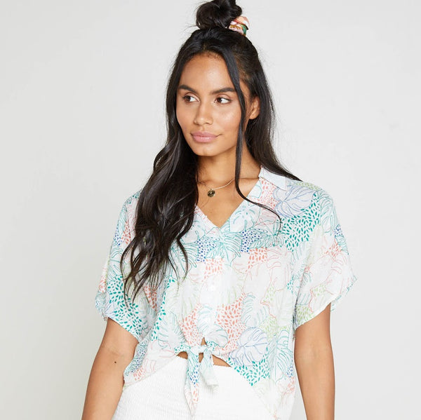 Palms Up Blouse