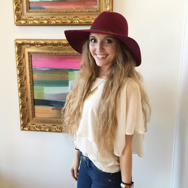 Floppy Fedora at Charm Boutique Gulf Shores