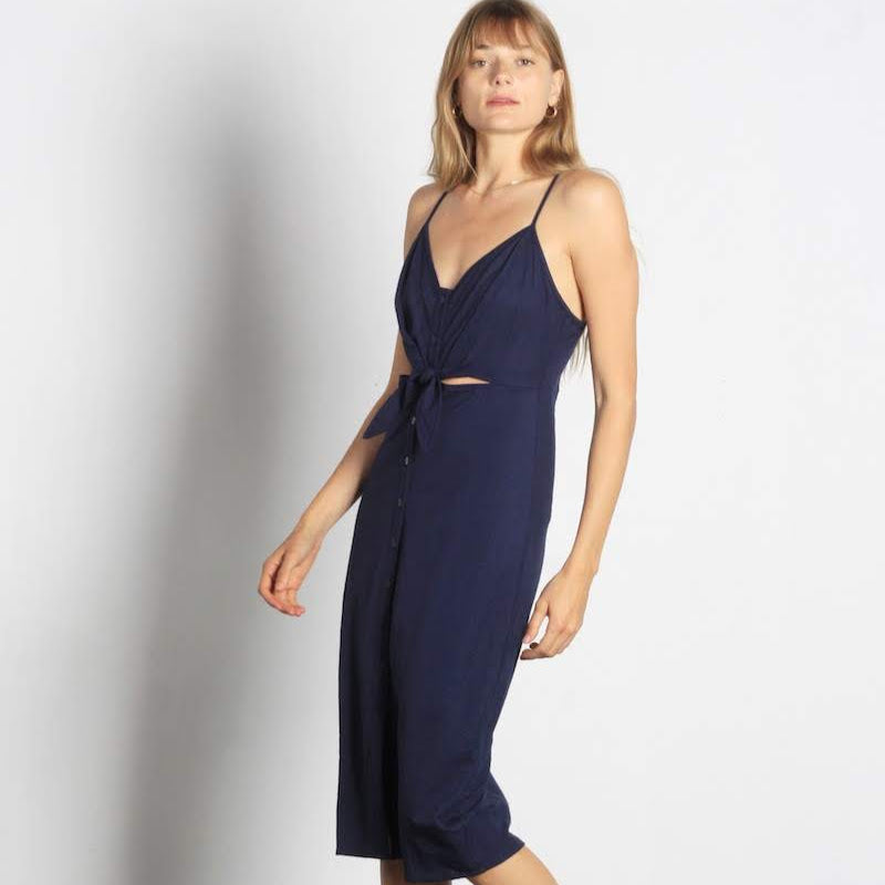 Cara Bow Midi Dress