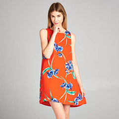 Tropical Print Dress from Caramela at Charm Boutique in Gulf Shores, AL