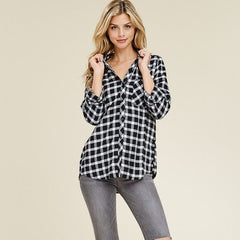 Day at the Picnic Flannel from Staccato at Charm Boutique in Gulf Shores