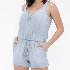 Poolside Stripe Romper