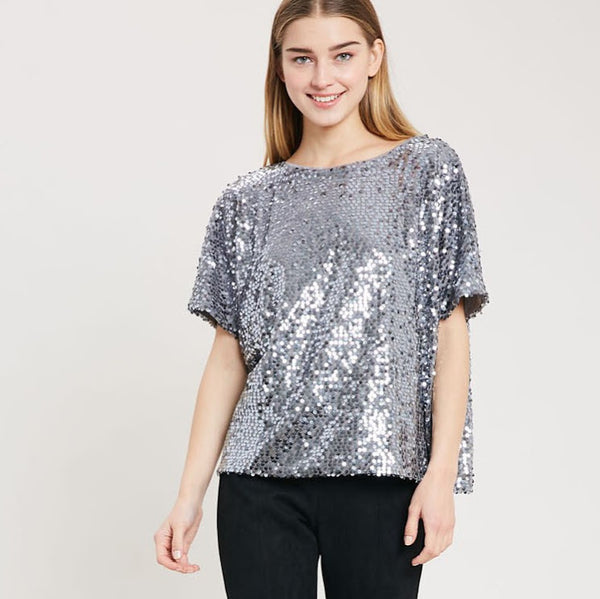 Disco Diva Short Sleeve Top