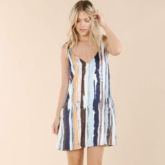 Vineyard Multi Stripe Dress