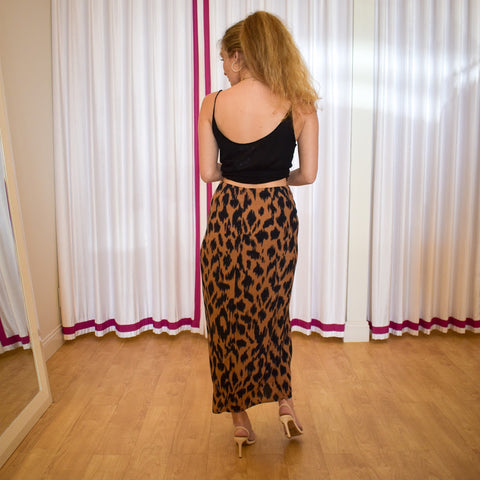 Arrow Leopard Midi