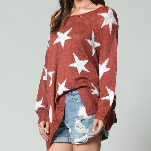 Just a Star Sweater