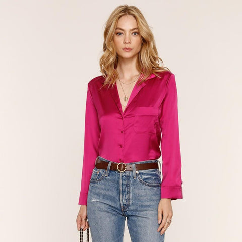 Kimber Blouse in Orchid