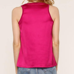 Chantelle Tank in Orchid