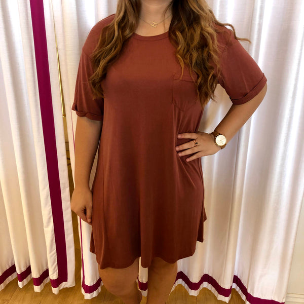 Swinging T-Shirt Dress