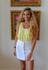 Butter Layered Tank by Sadie & Sage at Charm Boutique in Gulf Shores, Alabama
