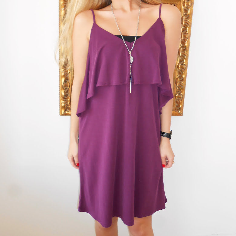 Wine & Dine in Deep Purple by HYFVE at Charm Boutique in Gulf Shores