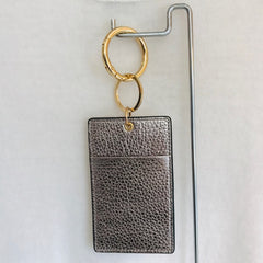 Leather ID Key Chain