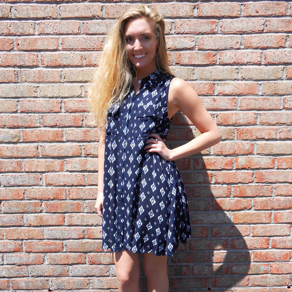 Diamond Doll Dress by Sadie & Sage at Charm Boutique in Gulf Shores, Alabama