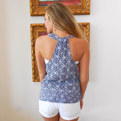 Kinley Dark Indigo Tank by BB Dakota at Charm Boutique in Gulf Shores, Alabama