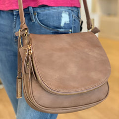 Saddle Bag Cross Body Bag