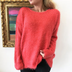 Cool for Coral Pullover