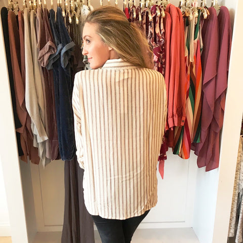 Rumor Has It Stripe Tunic