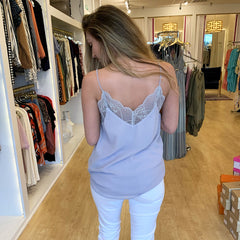 Silver Cami Top from Wishlist at Charm Boutique in Gulf Shores, Alabama