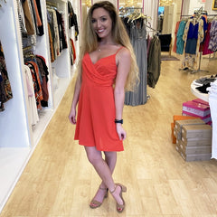 Bittersweet Red Dress from Lush at charm Boutique in Gulf Shores, AL