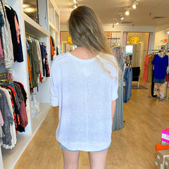 Lavender Ombré Sweater from Labiz at Charm Boutique in Gulf Shores, Alabama