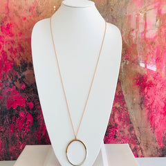 Rosie Oval Necklace