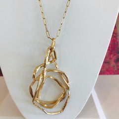 With the Curve Chain Necklace