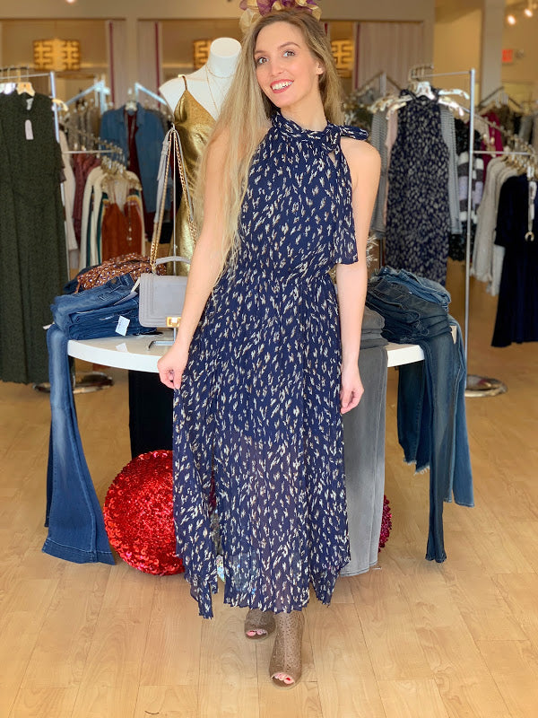 Falling For You Navy Maxi