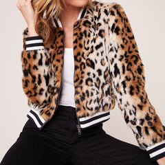Cat Power Leopard Jacket