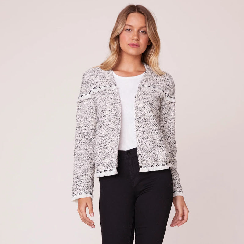 Long Story Short Fringe Blazer