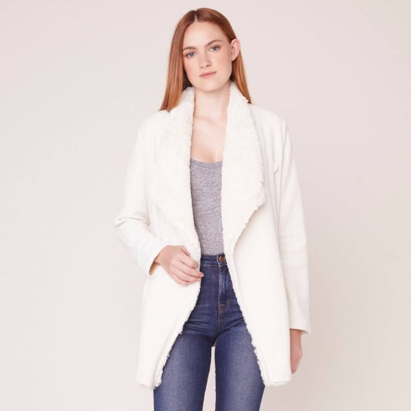 In The Mix White Coat