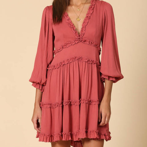 Fiesta Ruffle Dress
