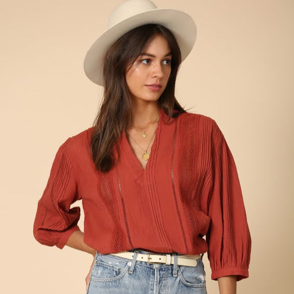 Amber Embroidered Blouse