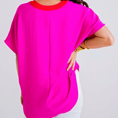 Colorblock Pink Tunic