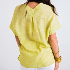 Lime Please, Gauze Blouse