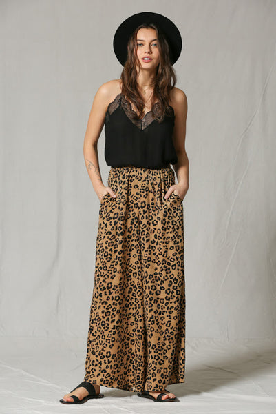 On the Prowl Leopard Palazzo