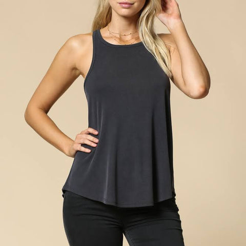 Lounge Ribbed Tank