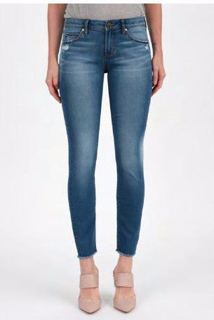 Sarah Skinny Jean in Beacon Wash at Charm Boutique