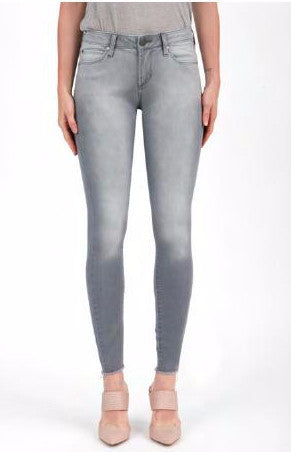 Sarah Skinny Jean in Baltic Grey Wash at Charm Boutique