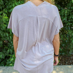 Merry Mauve Tunic by Karlie at Charm Boutique in Gulf Shores, Alabama