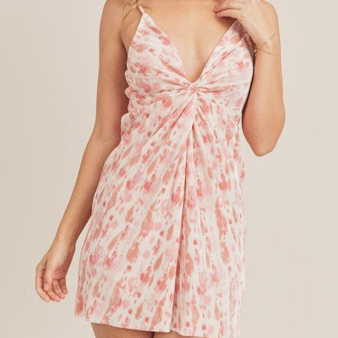Candy Rain Knot Dress