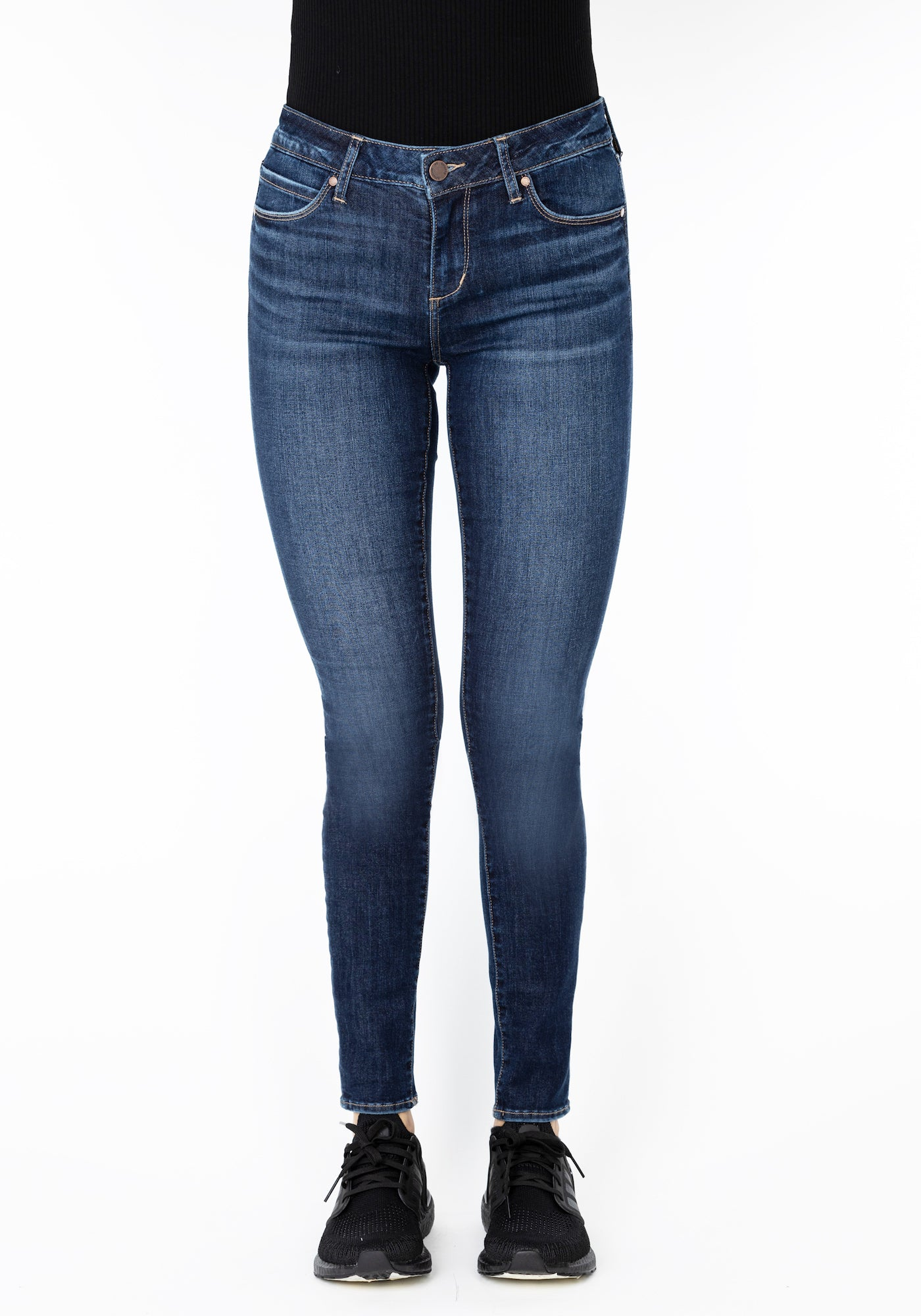 Sarah Ankle Skinny in Bellview Wash