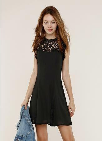 Noa Black Lace Dress