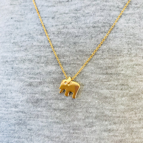 Love Elephant Necklace